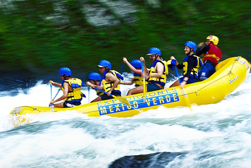Rafting in Veracruz, Mexico